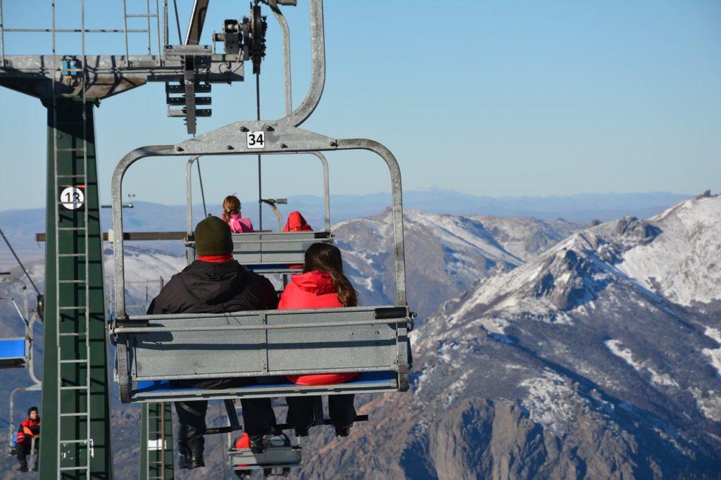Clark Weeks skiing Patagonia - Cerro Catedral in Bariloche